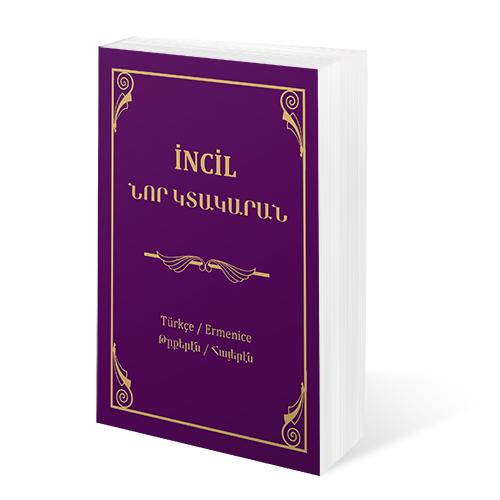 Türkçe - Ermenice İncil (Karton kapak)